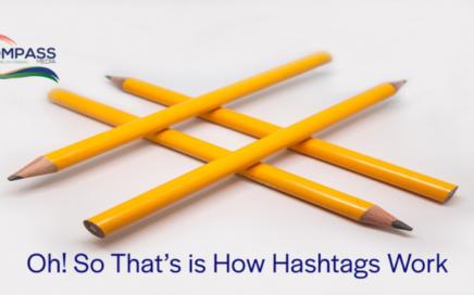 How Hashtags Work Blog Post from Kompass Media Dublin Ireland