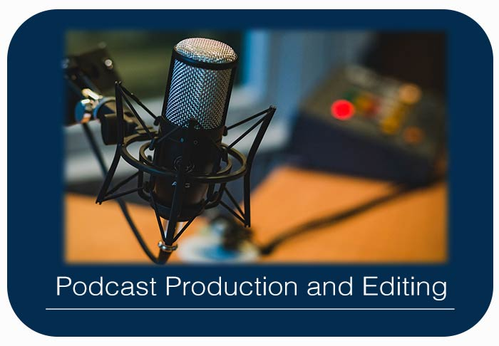 Podcast Production and Editing, we also provide Radio Show Recording and Editing Kompass Media Dublin Ireland
