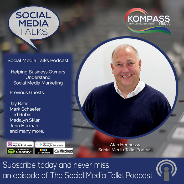 Social Media Talks Podcast from Kompass Media Dublin Ireland