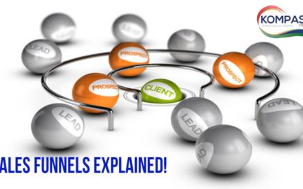 Sales Funnels Explained Blog Post from Kompass Media Dublin Ireland