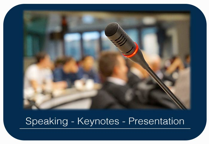 Kompass Media Speakers and Keynote Presentation, Alan Hennessy or Wendy Stunt available for talks and events online and offline
