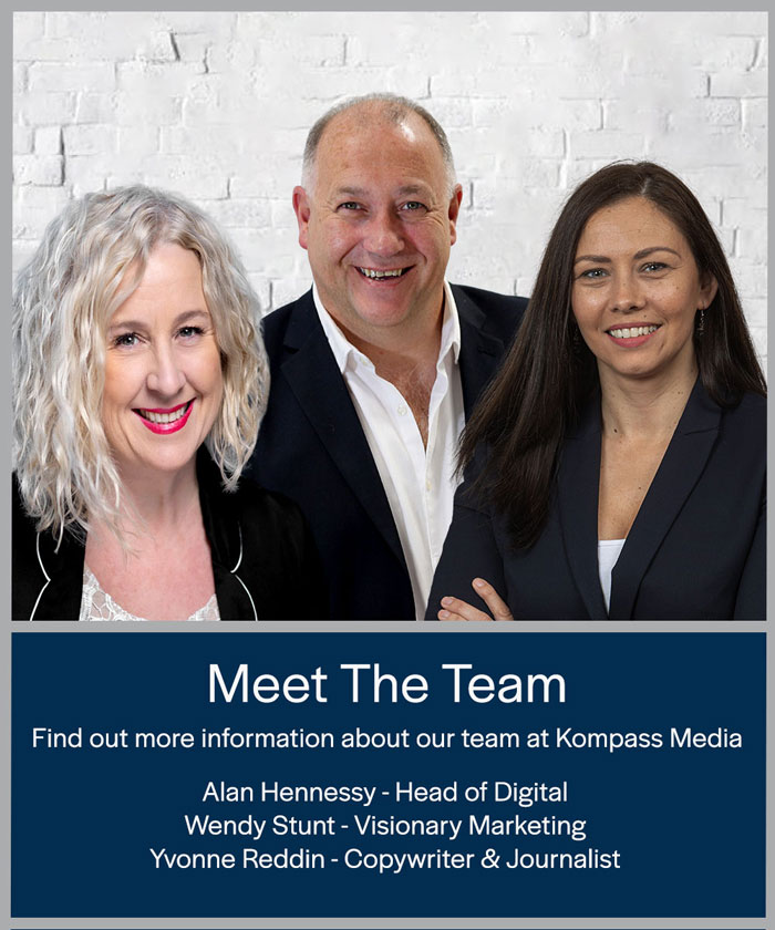 Meet the team at Kompass Media, Dublin Ireland. We can help you with all of your Marketing Requirements