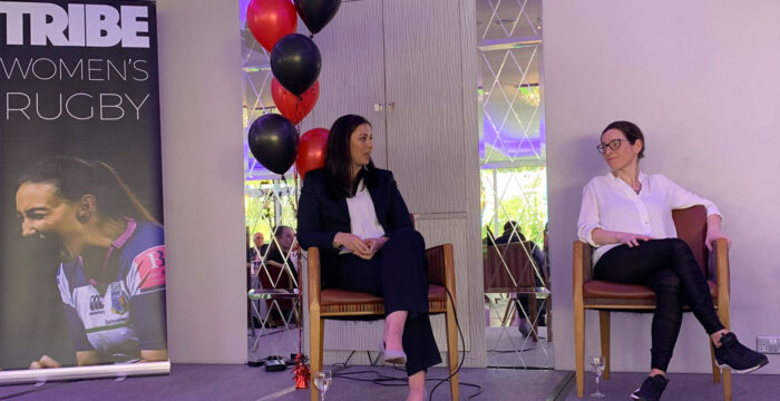 Wendy Stunt Guest Speaker at Tribe Women's Rugby Business Lunch