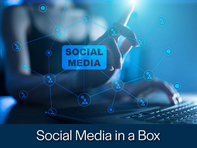 Social Media in a box from Kompass Media Dublin Ireland