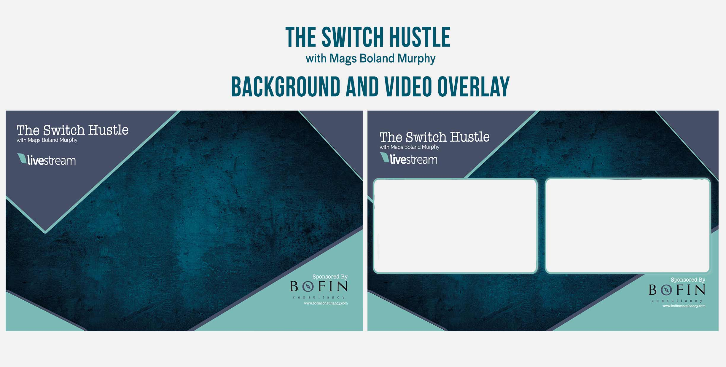 The Switch Hustle with Mags Boland MurphyGraphic Design Backgrounds and Overlays from Kompass Media Dublin Ireland