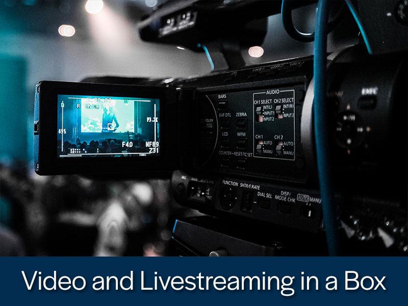 Video and Livestreaming in a Box from Kompass Media Dublin Ireland