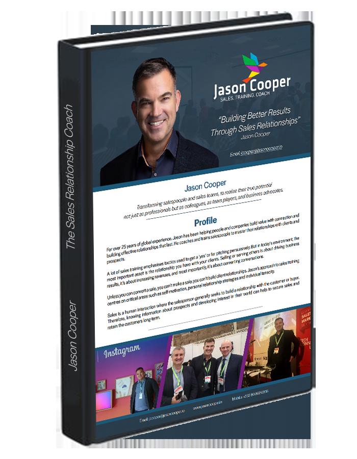 Jason Cooper Media Pack developed by Kompass Media