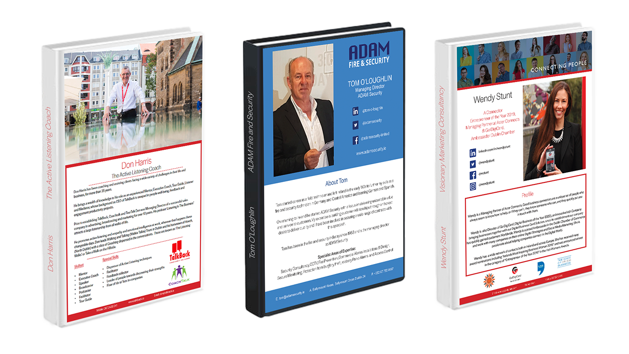 Your Personalised Media Packs Solution from Kompass Media - Contact Alan for more information.