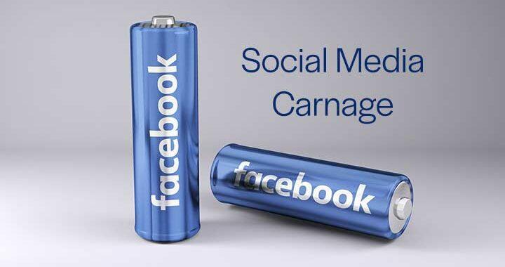 Social Media Carnage blog from Kompass Media
